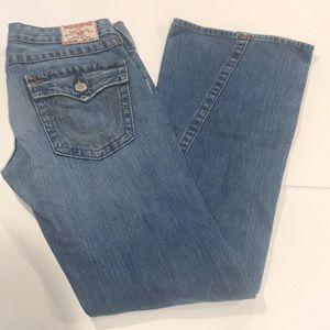 True Religion Joey Bell Bottom Jeans - Size 30